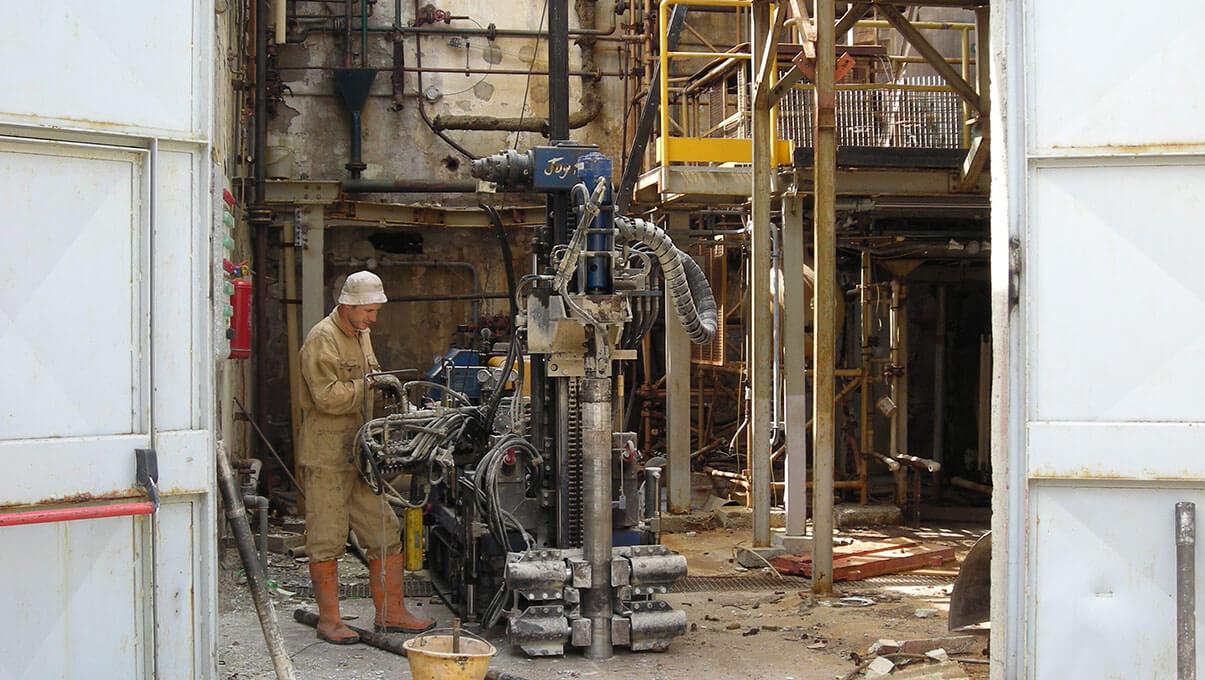 Sondaggi in sito industriale - PERO (MI)