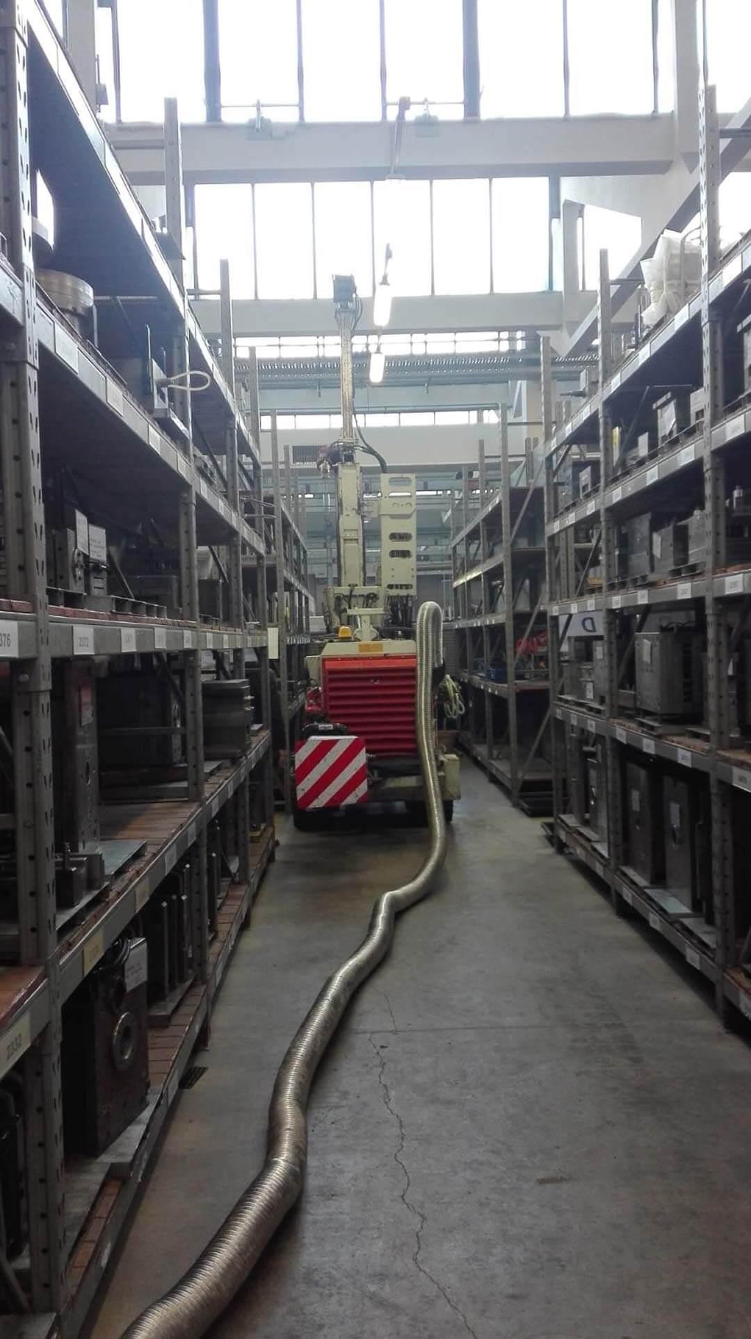 Sondaggi interni a capannone industriale - MONZA