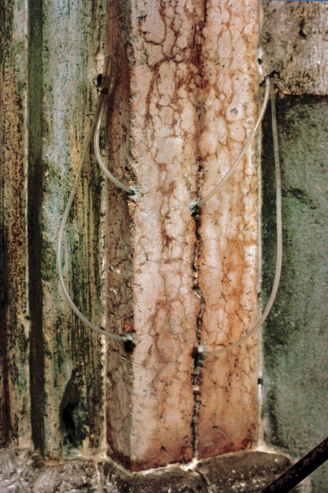 Consolidamento pilastrino della strombatura