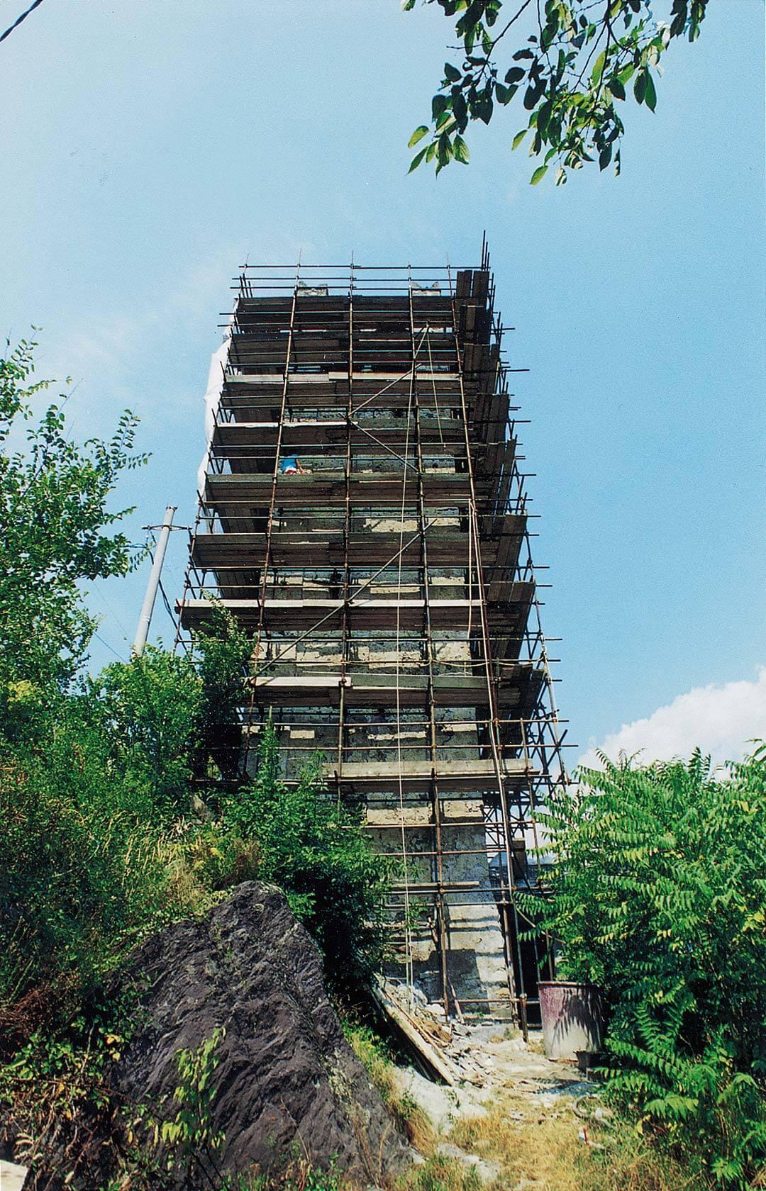 Consolidamento della torre