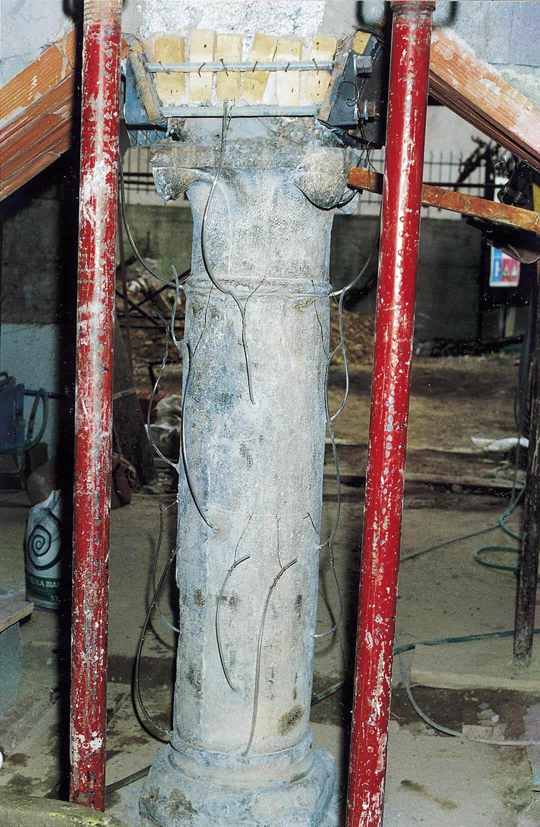 Consolidamento di una colonna